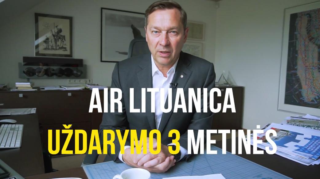 Air Lituanica uždarymo 3 metinės
