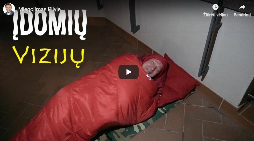 Miegojimas Pilyje