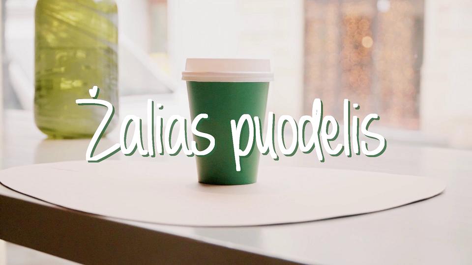 Žalias puodelis