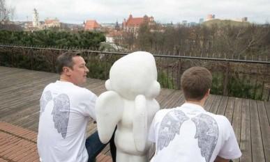 Vilnius - žemai skraidančių angelų miestas